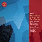 Barber: Violin Concerto; Cello Concerto & Piano Concerto: Classic Library Series von Leonard Slatkin