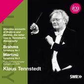 Brahms: Symphony No. 1 - Martinů: Symphony No. 4 by Stuttgart Radio Symphony Orchestra
