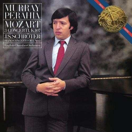 Mozart: Piano Concertos Nos. 1-3 & Schröter: Piano Concerto op. 3/3 by Murray Perahia