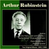 Brahms: Trio for Piano, Violin and Cello No. 1 - Fauré: Piano Quartet No. 1 (Two Original Albums 1941/1949) de Various Artists
