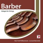 Barber: Adagio for Strings by Leonard Bernstein / New York Philharmonic