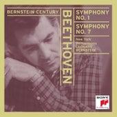 Beethoven: Symphonies Nos. 1 & 7 von Leonard Bernstein