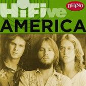 Rhino Hi-five: America by America