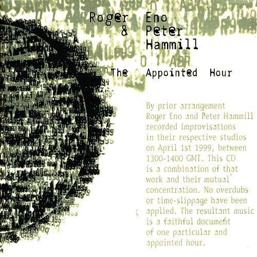 The Appointed Hour by Roger Eno