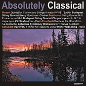 Mozart: Quintet for Clarinet and Strings in A Major - Beethoven: String Quartet No. 8 in E Minor, Op. 59-2, et. al von Various Artists