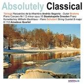 Schubert: String Quartet in B Major - Brahms: Piano Concerto No. 1 in D Minor, Op. 15, et. al de Various Artists