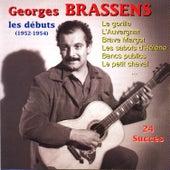 Les Débuts (1952 - 1954) de Georges Brassens