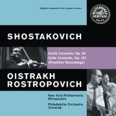 Shostakovich: Violin and Cello Concertos de Various Artists