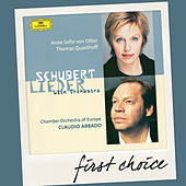 Schubert: Lieder With Orchestra by Anne-sofie Von Otter