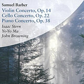 Samuel Barber - Violin Concerto Op.14, Cello Concerto Op. 22, Piano Concerto Op. 38 de Various Artists