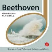 Beethoven Klavierkonzerte 1+2 by Emanuel Ax