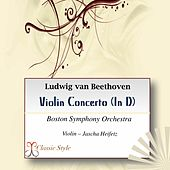 Beethoven: Violin Concerto von Boston Symphony Orchestra