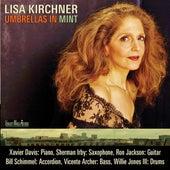 Umbrellas in Mint de Lisa Kirchner