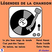 Legendes de la Chanson, Vol. Five de Various Artists