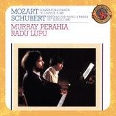 Mozart:  Sonata in D Major for Two Pianos & Schubert:  Fantasia in F Minor for Piano, Four Hands, D. 940 (Op. 103) von Radu Lupu