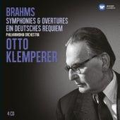 Brahms: Symphonies; Ein deutsches Requiem (Klemperer Legacy) von Otto Klemperer