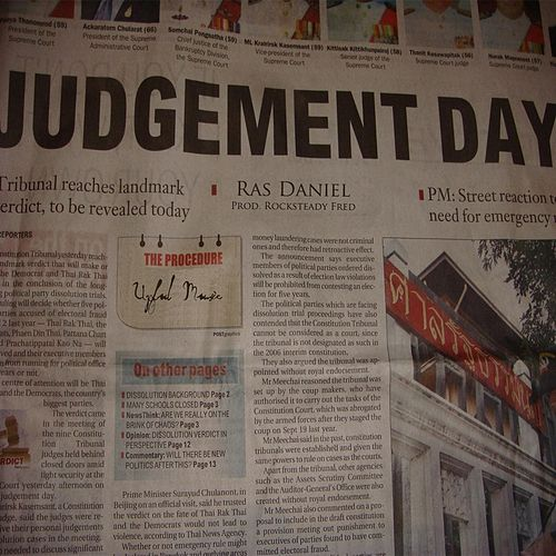 Judgement Day by Ras Daniel
