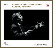Edition Vol. 1 di Claudio Abbado