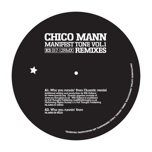 Manifest Tone Vol.1 - 12' Remixes by Chico Mann