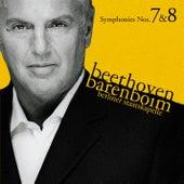 Beethoven : Symphonies Nos 7 & 8 by Daniel Barenboim