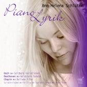 Pianolyrik von Ann-Helena Schlüter
