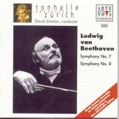 Beethoven: Symphony No.7 & 8 von David Zinman