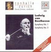 Beethoven: Symphonies No. 1 & 2 von Tonhalle Orchestra Zurich