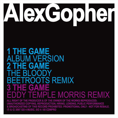 The Game - Ep by Alex Gopher
