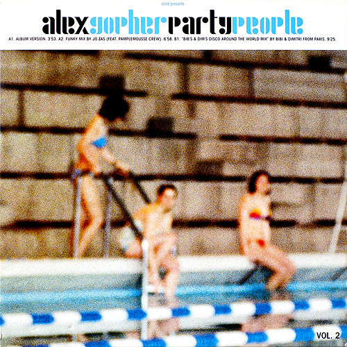 Party People - Volume 2 by Alex Gopher