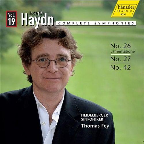 Haydn: Symphonies, Vol. 19 by The Heidelberg Symphony Orchestra