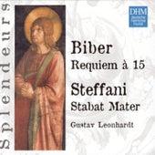 DHM Splendeurs: Biber / Requiem A 15 - Steffani: Stabat Mater by Gustav Leonhardt