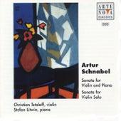 Artur Schnabel: Sonatas For Violin And Piano de Christian Tetzlaff