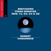 Beethoven: Piano Sonatas Nos. 14, 26, 24 & 23 by Robert Casadesus