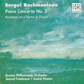 Rachmaninov: Piano Concerto No.3, Chopin Variations op.22 de Andrei Pisarev