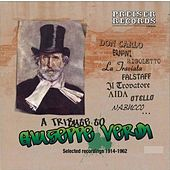 A Tribute to Giuseppe Verdi de Various Artists