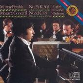 Mozart:  Concertos No. 25 & 5 for Piano and Orchestra von Murray Perahia