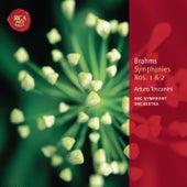 Brahms: Symphonies Nos. 1 & 2 by Arturo Toscanini