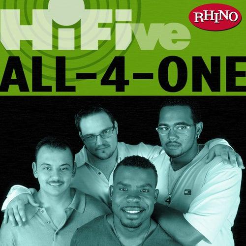 Rhino Hi-five: All-4-one by All-4-One