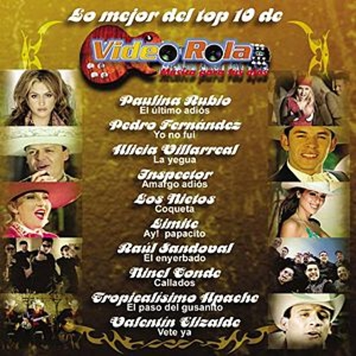 Lo Mejor Del Top 10 De Video Rola by Various Artists