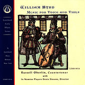 Byrd:  Music For Voice And Viols by William Byrd