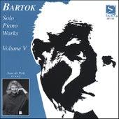 Bartok Solo Piano Works, Volume 5 by June De Toth