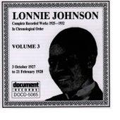 Lonnie Johnson, Vol. 3: 1927 - 1928 by Lonnie Johnson