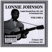 Lonnie Johnson Vol. 6 (1930 - 1931) by Lonnie Johnson