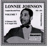 Lonnie Johnson Vol. 7 (1931 - 1932) by Lonnie Johnson