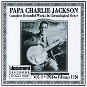 Papa Charlie Jackson Vol. 1 (1924 - 1926) de Various Artists