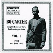 Bo Carter Vol. 1 (1928 - 1931) by Various Artists