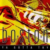 Ya Gotta Try by Boston Brass