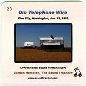 Om Telephone Wire by Gordon Hempton