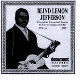 Blind Lemon Jefferson Vol. 4 1929 by Blind Lemon Jefferson