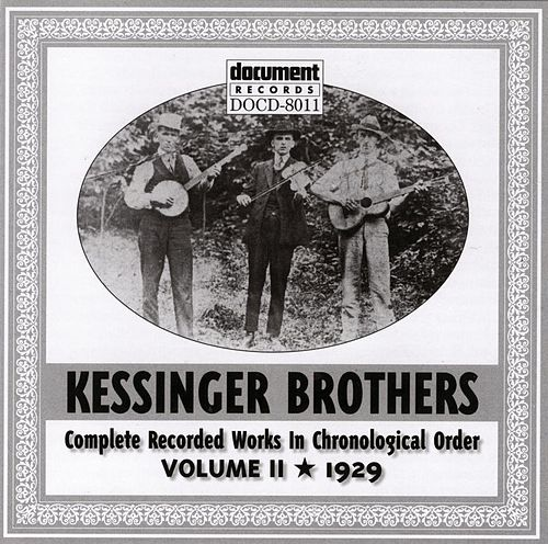 Kessinger Brothers Vol. 2 1929 by Kessinger Brothers